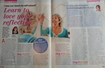 Yours Magazine, February 2015: Learn to Love Your Reflection
